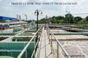 Wastewater treament plant of Saigon Tobacco Co., Ltd.